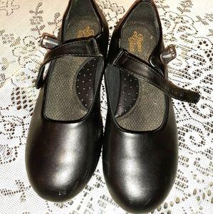 Dance Class Rhythm Tone Tap Shoes Size 6